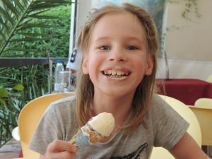 умение вкусно есть мороженое - тоже наука!